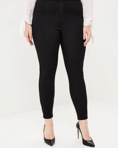Черные джинсы с высокой посадкой Marks & Spencer