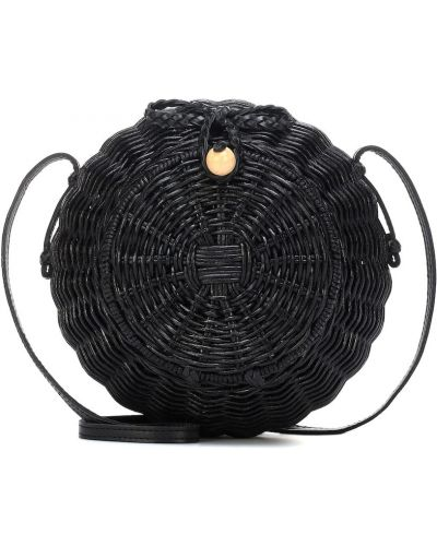 Czarna torebka skórzana Ulla Johnson
