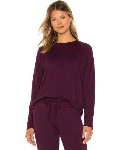 Фиолетовый флисовый пуловер Beyond Yoga