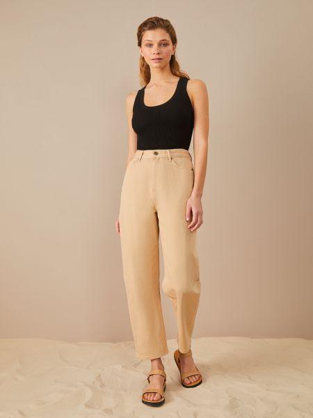 Широкие джинсы укороченные 12storeez