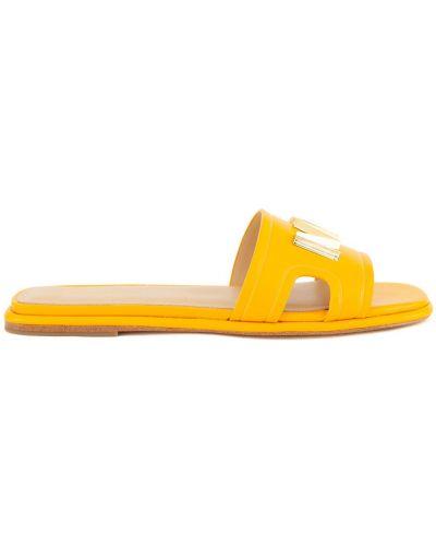Kapcie - żółte Michael Kors