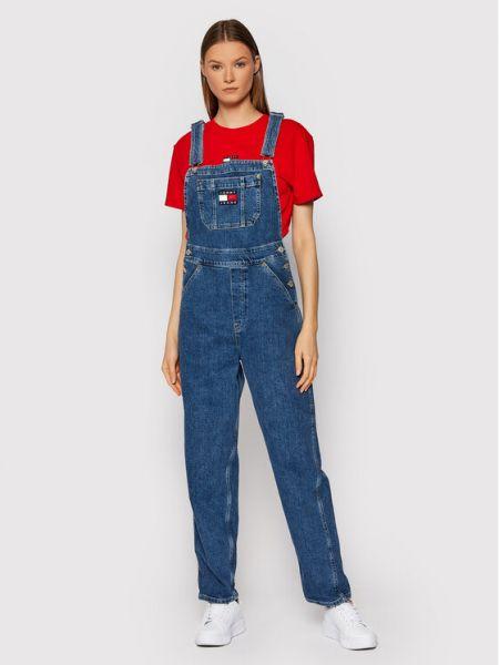 Kombinezon - niebieski Tommy Jeans