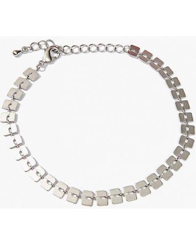 Браслет из серебра серебряного цвета Exclaim