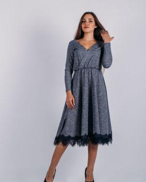 Повседневное платье с запахом с V-образным вырезом Lautus