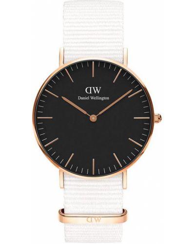Złoty zegarek - biały Daniel Wellington