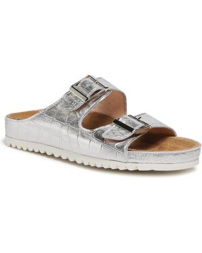 Sandały srebrne Baldaccini
