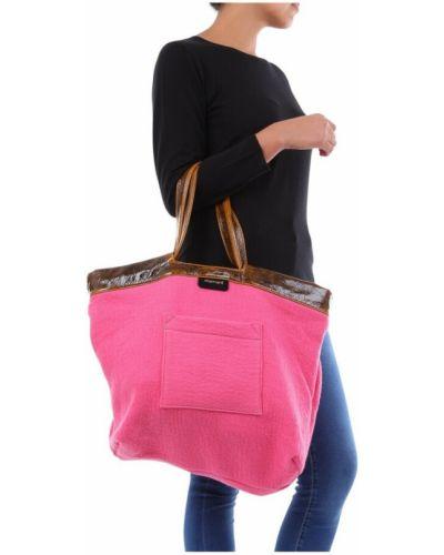 Różowa torebka Momoni
