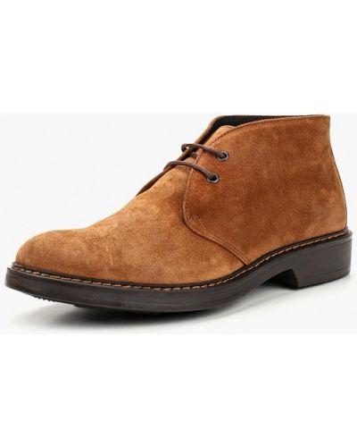 Ботинки осенние демисезонный коричневый Bata