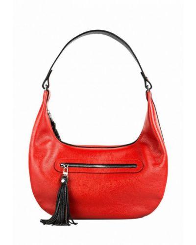 Кожаный сумка сумка-хобо Fabula