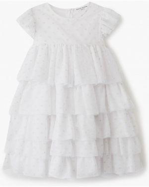 Белое платье на торжество Sonia Rykiel