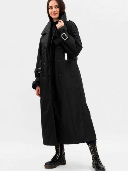 Утепленная куртка демисезонная черная Pavel Yerokin
