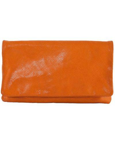 Клатч оранжевый Gianni Chiarini