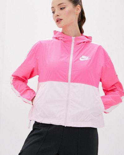 Розовая ветровка Nike