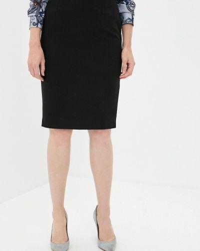 Черная юбка узкого кроя Samos Fashion Group