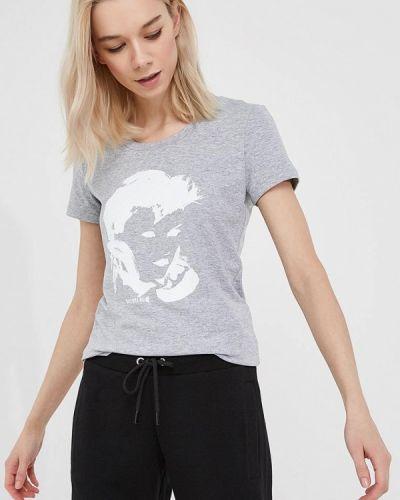 Серая футболка Bikkembergs