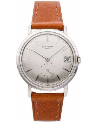 Белые часы винтажные Patek Philippe