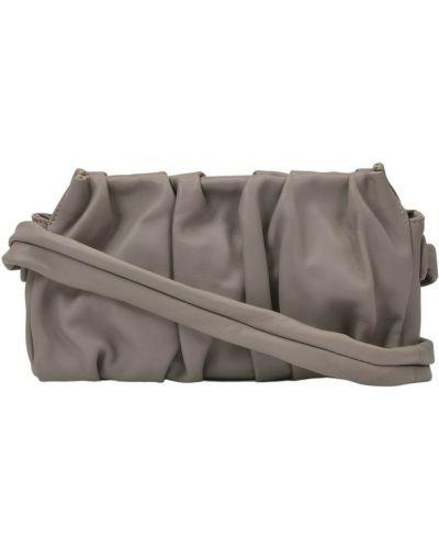 Szara torebka skórzana Elleme