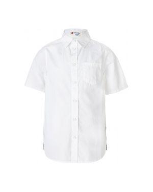 Рубашка с надписью прогулочный Button Blue