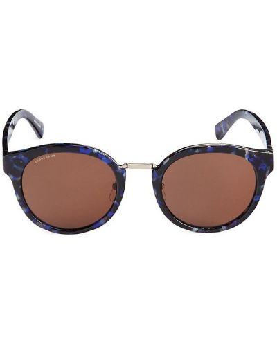 Солнцезащитные очки - синие Longchamp
