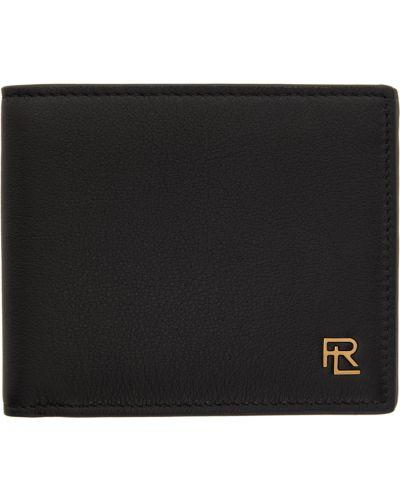 Portfel skórzany - czarny Ralph Lauren Purple Label