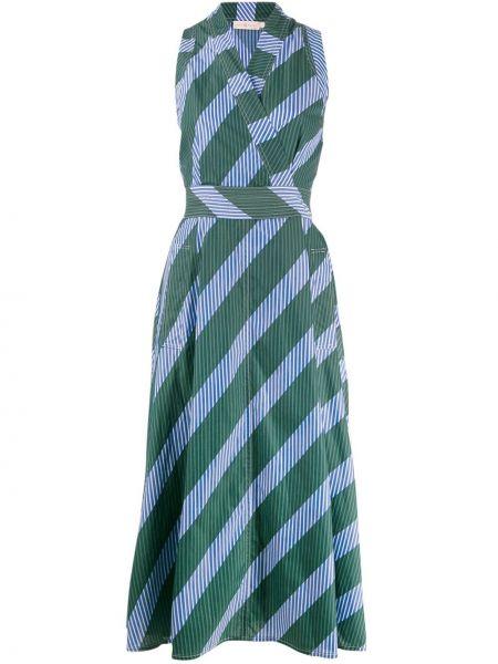 Платье миди с запахом макси Tory Burch