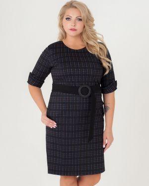 Платье с поясом футляр платье-сарафан Sparada