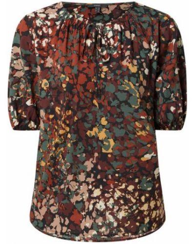 Czarna bluzka bawełniana Esprit Collection