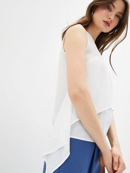 Джинсовый топ - белый Trussardi Jeans
