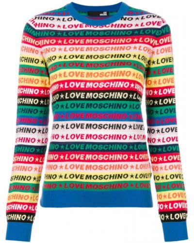 Джемпер в полоску Love Moschino