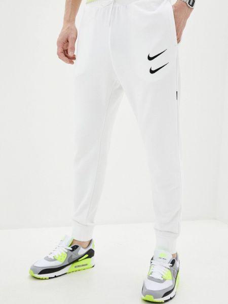 Белые спортивные спортивные брюки Nike