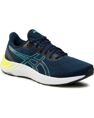 Buty sportowe z siateczką - niebieskie Asics