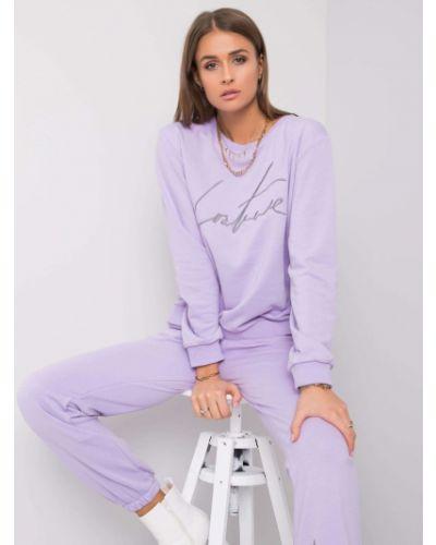 Garnitur dresowy - fioletowy Fashionhunters