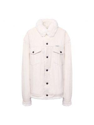 Куртка из кролика - бежевая Forte Dei Marmi Couture