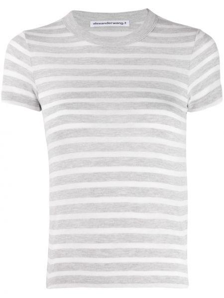 Классическая рубашка в полоску стрейч T By Alexander Wang