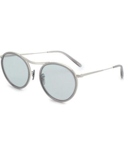 Серые солнцезащитные очки Oliver Peoples