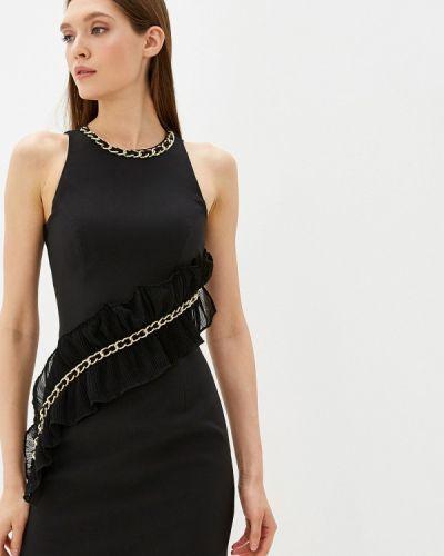 Вечернее платье осеннее черное Love Republic