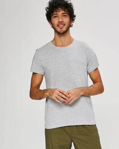 Серая футболка однотонная Sublevel