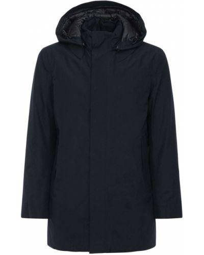Синее пальто с карманами Save The Duck