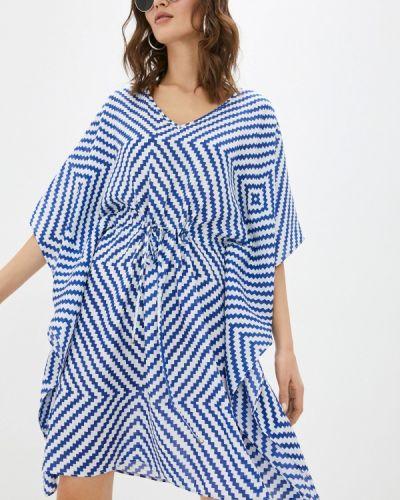 Пляжное платье - синее Krismarin