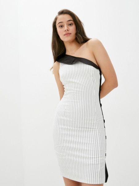 Белое вечернее платье Joymiss