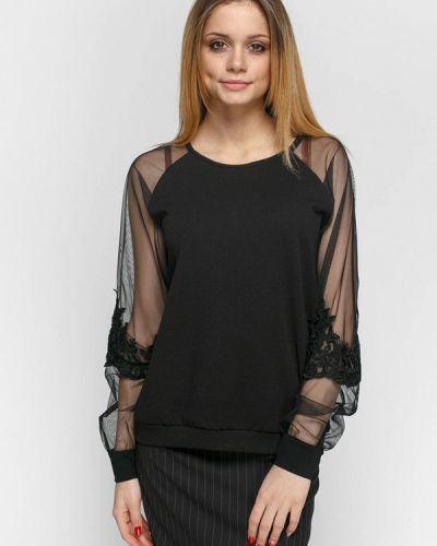 Блузка черная весенний Zubrytskaya