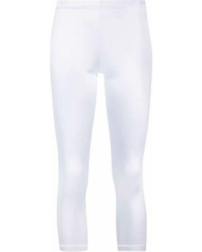 Облегающие белые леггинсы эластичные Junya Watanabe