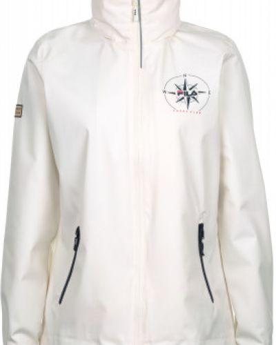 Куртка с капюшоном укороченная спортивная Fila