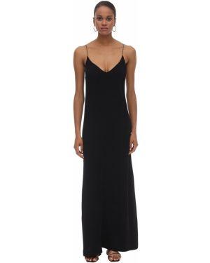 Платье макси с пайетками на бретелях Lautre Chose