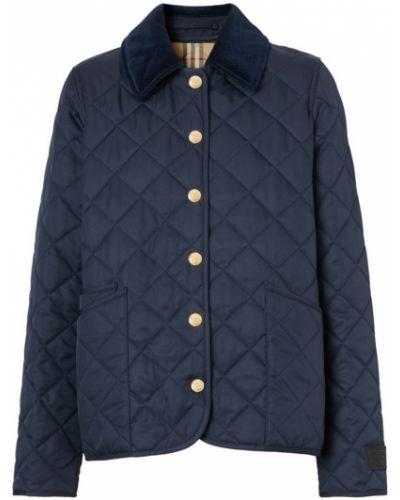 Стеганая куртка - черная Burberry