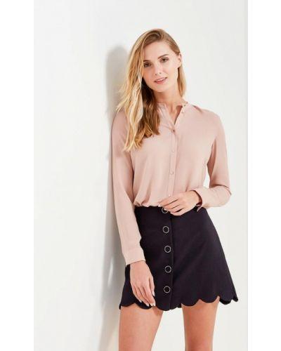 Блузка с длинным рукавом весенний бежевый Motivi