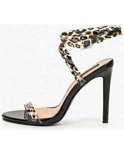 Босоножки на каблуке коричневый Sergio Todzi