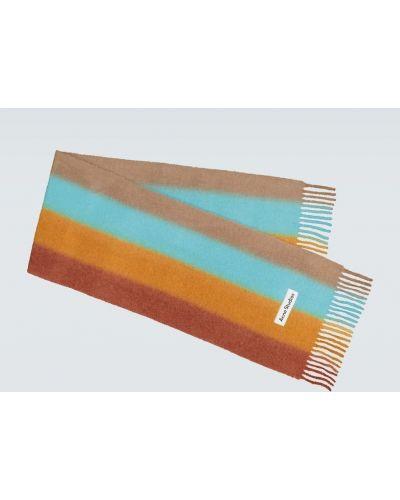 Мягкий синий шерстяной шарф Acne Studios