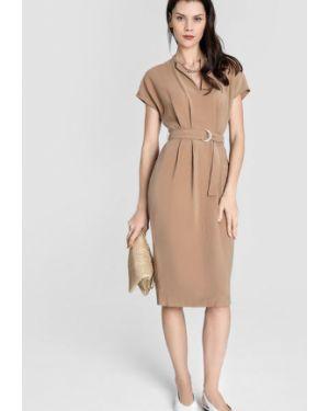 Платье мини через плечо с V-образным вырезом Ostin