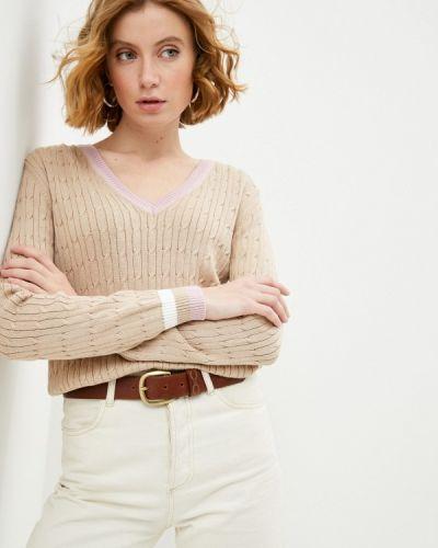 Бежевый пуловер La Biali